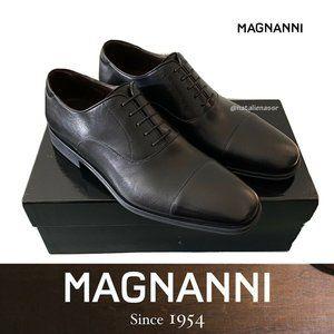 Magnanni Leather Cap Toe Men's Oxford